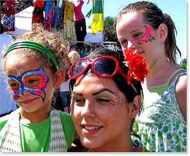 Fees for Wild Smiles Face Painting Services